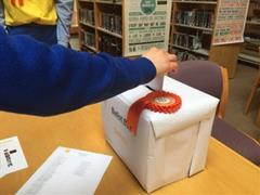 Cluny Library Mock Election