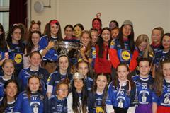 Sam Maguire Cup visit to Cluny
