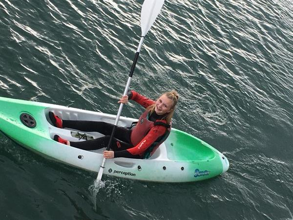TY Kayaking in Dun Laoghaire