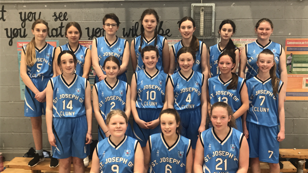 Basketball Win - Minor A Team v's Loreto Dalkey