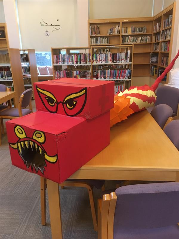Welcome 'Hot-Line Bling' Cluny Library Dragon