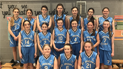Basketball Win for 1st & 2nd Year Team