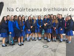 A TY Day at  The Criminal Courts of Justice