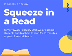 Squeeze in a Read Event - 25 February 2021