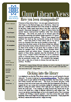 Library Newsletter - Winter 2016